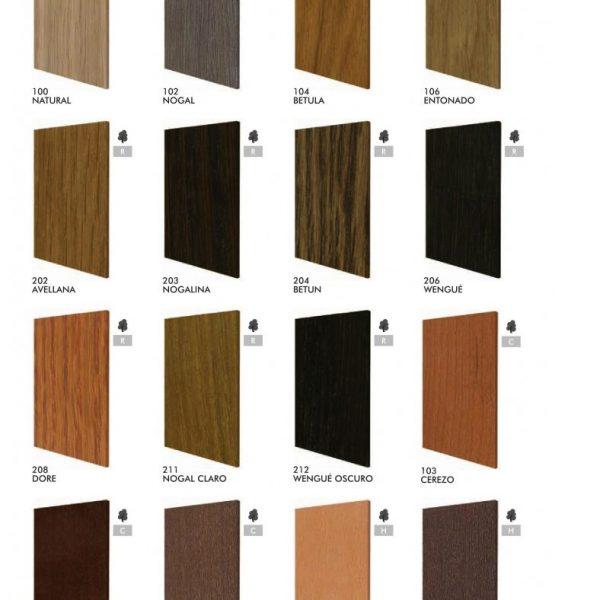 Range Of Wooden Door Colours