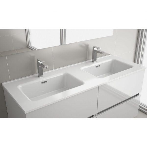 Constanza 121cm Porcelain Double Washbasin