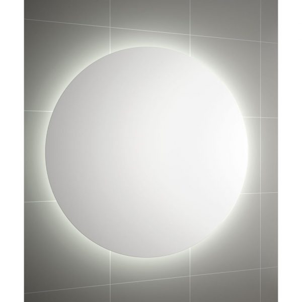 Moon Mirror with LED Light