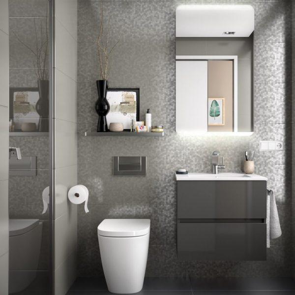 Fussion Line 2 Drawer Bathroom Set 60cm