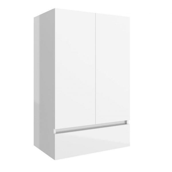 Infinity Wall Mounted 2 Door / 1 Drawer Storage Unit