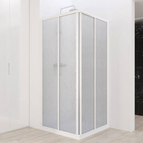 Aurum Acrylic or Glass Shower Cubicle with Sliding Doors