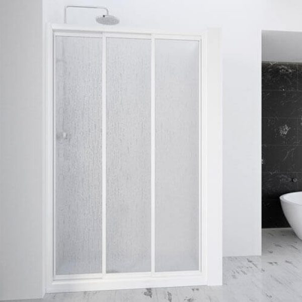 Demi Sliding Panel Shower Screen
