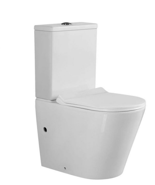 Kotok Toilet with Soft Closing Lid