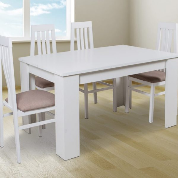 Berta Dining Room Table with 4 Chairs