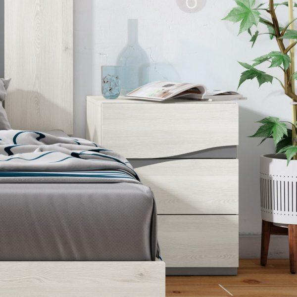 Par Bedside Tables- 2 & 3 Drawer