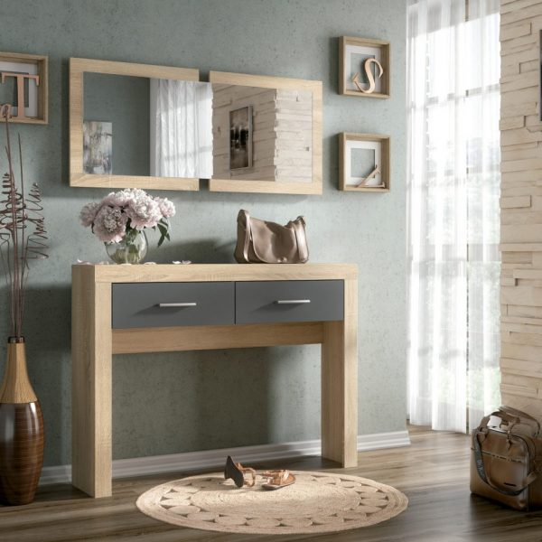 Console Table - 2 Drawer