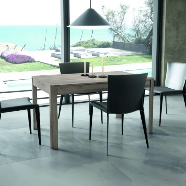 Extending Dining Room Table with Rounded Corners