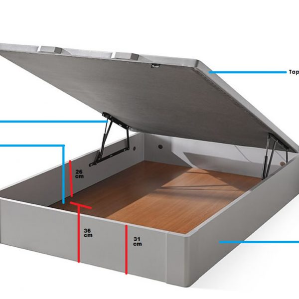 Praga Storage Bed